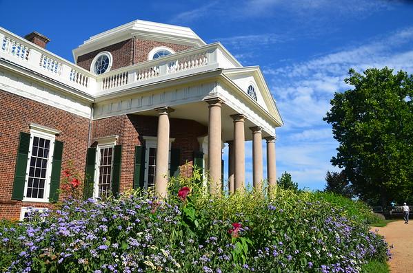 Monticello July 2015 - Thomas Jefferson's home