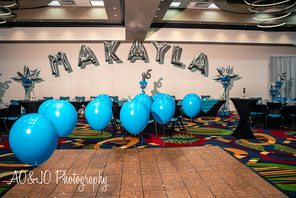 Malyisa Sweet 16 Birthday Party