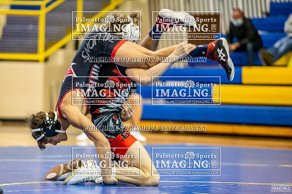 1-16-21 Gilbert Varsity Wrestling vs South Pointe-Lexington