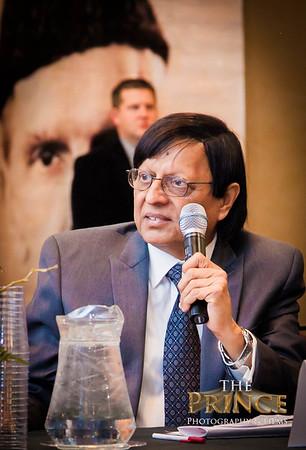 APML Dallas Chapter meeting with President Pervez Musharraf  Cam1