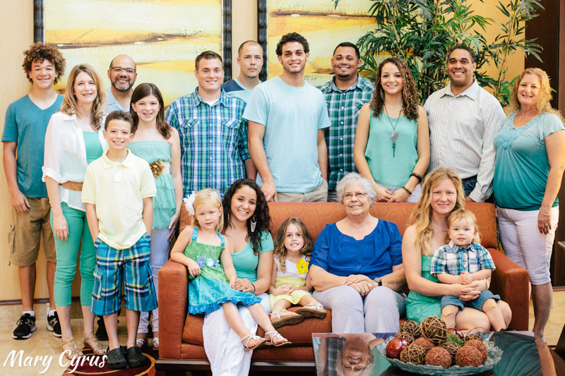 Extended Family Portraits in Allen, Texas by Mary Cyrus