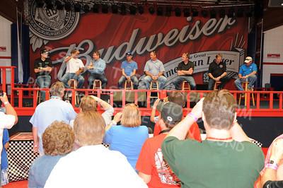 VIP Budweiser Pavilion, Fans, Sponsors & Displays