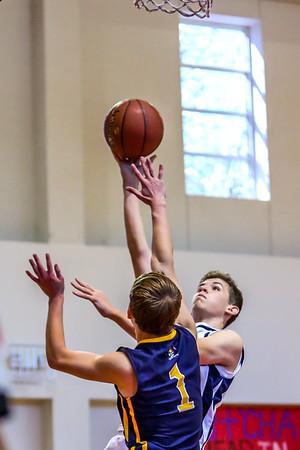 Mar 5 - Basketball - 8th Gr Gold vs SEAS Gold