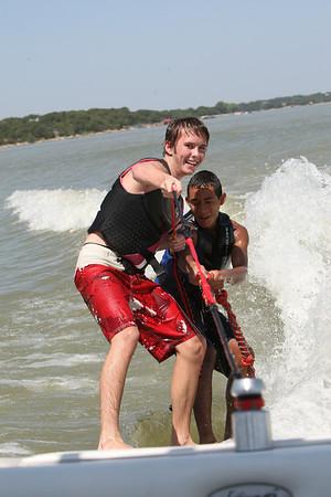 Brady, Herbert and Courtney (August 23, 2009)