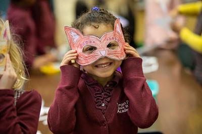 Kindergarten Mardi Gras Masks