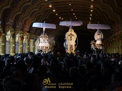 யாழ்-நல்லூர்க்கந்தன் ஆலய 25ம் நாள் மாலை உற்சவம்