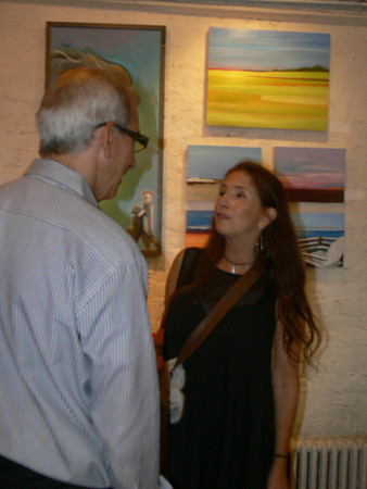 Aug 12 Mon 2013 DONNA LAMANGINO Paintings at Cornelia Cafe