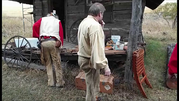 Log Hewing Video Demonstration 2013