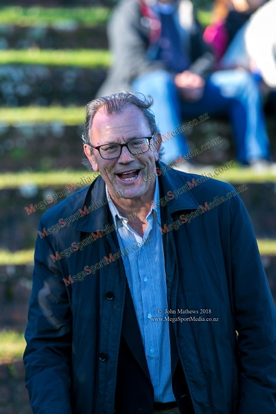 OBU stalwart Roger Drummond at the Wellington Premier  rugby union match (Swindale Shield) between Old Boys University RFC (white) and Petone (blue) at Nairnville Park, Wellington, New Zealand on 2 June 2018. SCORE: Petone 5, OBU 19 Copyright John Mathews 2018 www.megasportmedia.co.nz