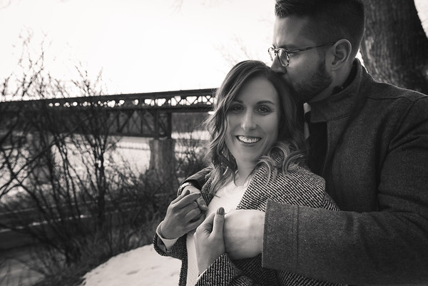 Edmonton Winter Engagement