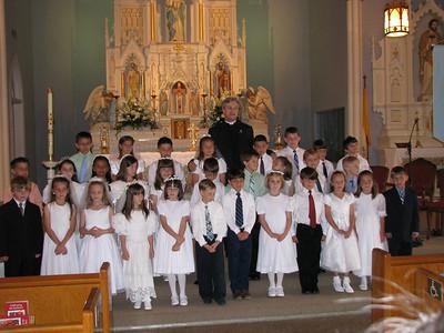 Our Lady of the Lake First Communion 2009, Delcambre, LA
