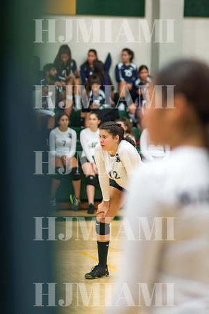 Mater Girls Volleyball 9-4-18