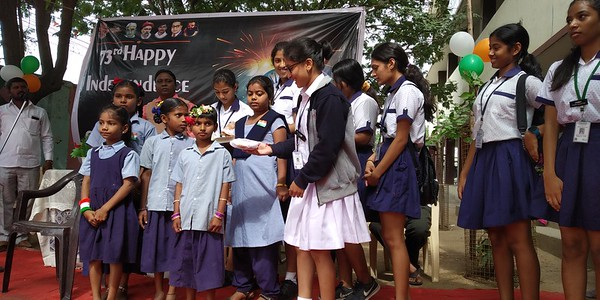 Independence Day Celebrations At Adopted Government School