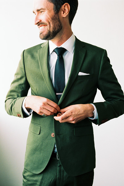 Groom Dark Green Suit -- Kristen Krehbiel-1.jpg
