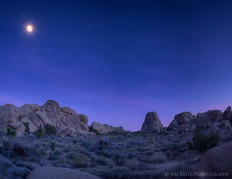 Twilight Moonscape
