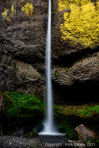 Latourell Falls in Columbia Gorge