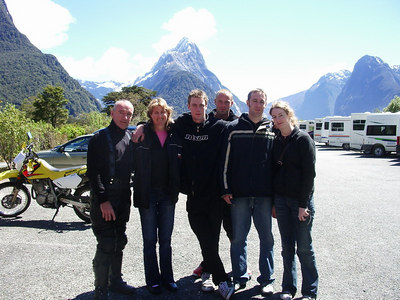 Family trip to Milford sound