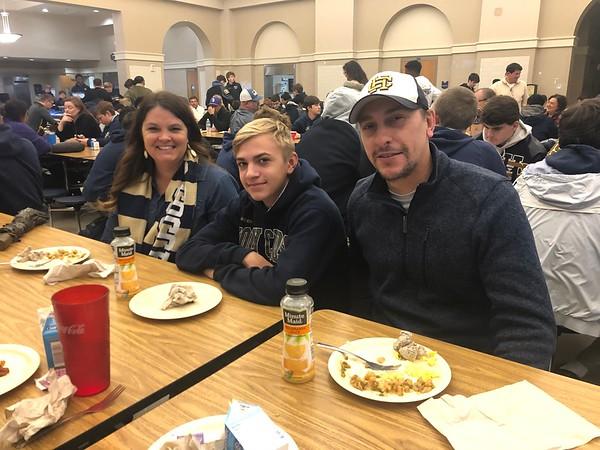 8th-11th Grade Parent Breakfast 11/12/19