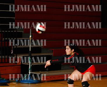 Westland Hialeah Girls JV & V Volleyball 9/4/18