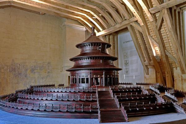 Chateau de Chambord - Exposition