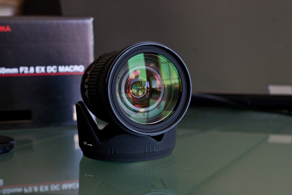 Sold: Sigma 18-50mm f2.8 EX DC for Canon