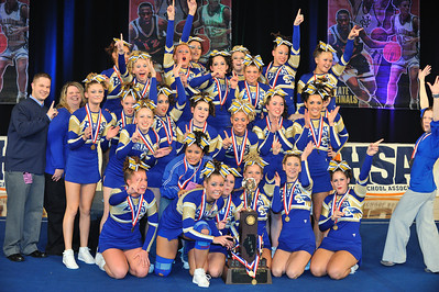 02-07-09 Sandburg IHSA Competitive Cheerleading
