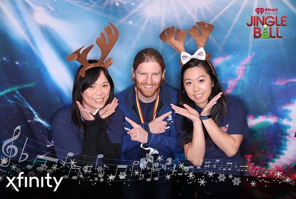 12.1.2018 - XFINITY - iHR Jingle Ball, San Francisco