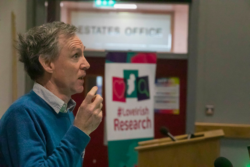 22/02/2018. Research Sparks in Waterford Institute of Technology. Pictured is Dr Brendan McCann. Picture: Patrick Browne