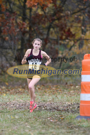 1.7 Miles D1 Girls - 2013 MHSAA LP XC Finals