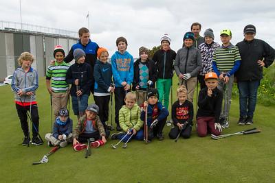 Golfnámskeið barna og unglinga 25. júní