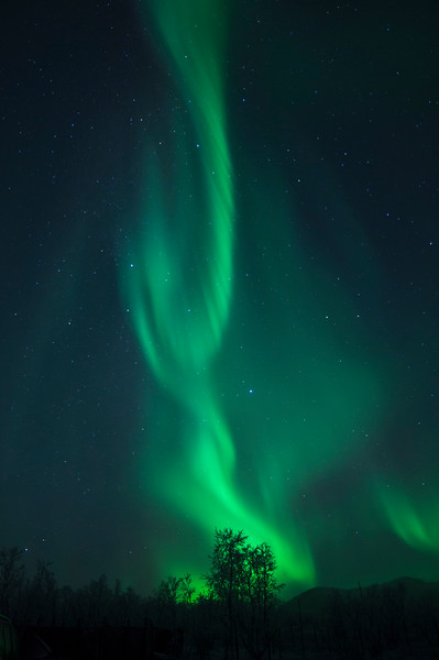 Northern Lights, 6-11-2016, Kilpisjarvi