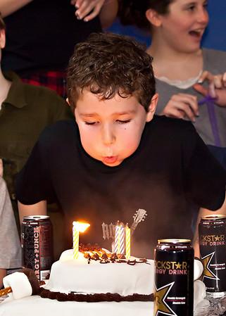 Mike Clark Birthday Candids