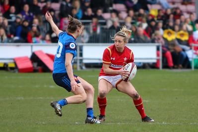 Wales vs France Women 28 Feb 2016