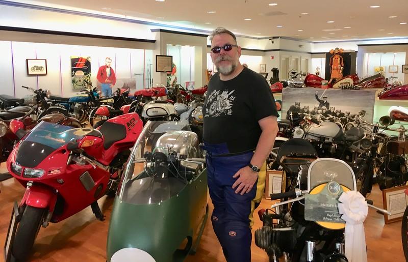 Harley at the Solvang Vintage Motorcycle Museum