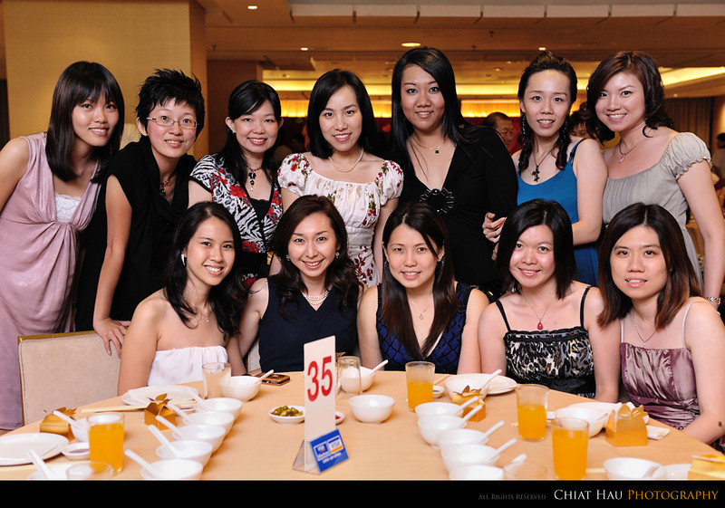 """The """"Sisters"""" for Fang Ying. :)"""