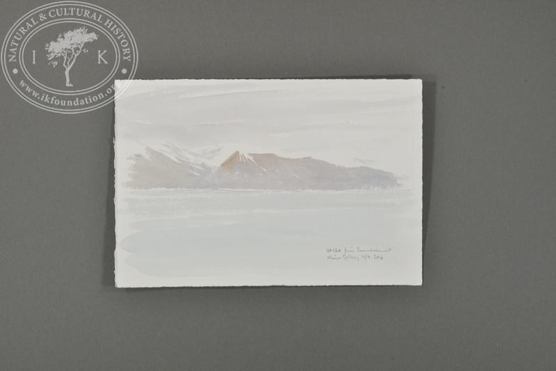 View from Svenskehuset, Svalbard | 4.9.2016 | Måns Sjöberg.