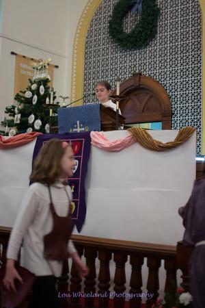 Cedar Lutheran Children's Christmas Program 12/22/2013