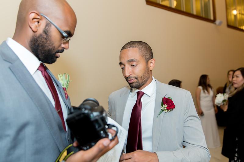Zemma City Hall Wedding