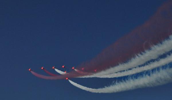 Red Arrows in Muscat