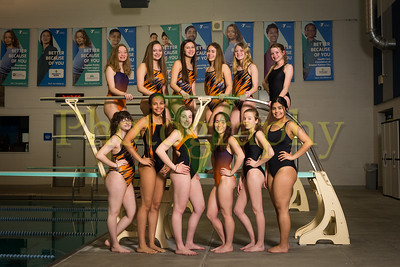 Bonner Springs Womens Swim 2019