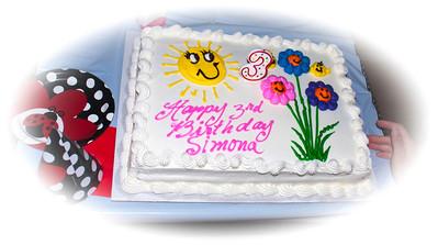 Simona's 3rd Birthday