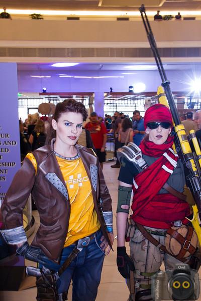 Borderlands Cosplayers at DragonCon 2015