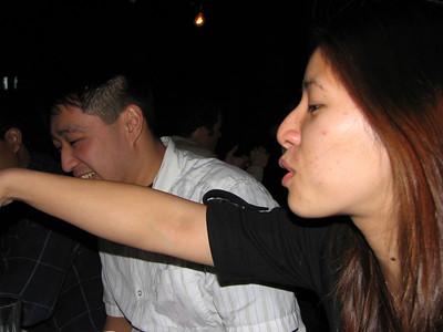 2006.10.26 Thu - Kelly Chang's b-day dinner @ Café Santorini in Old Town Pasadena