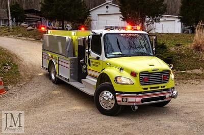03-20-19 West Lafayette - Chimney Fire