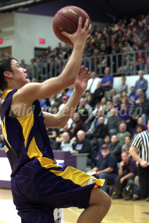 Boys Basketball, Keota vs Danville, 1A District 13 Final at BHS 2/23/2012