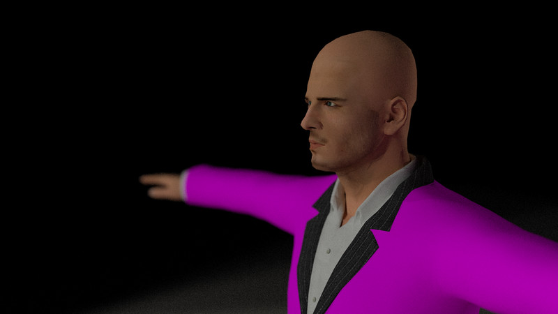 Business Man Scene Multiple Rigging (Missing Textures) CGI Render 7