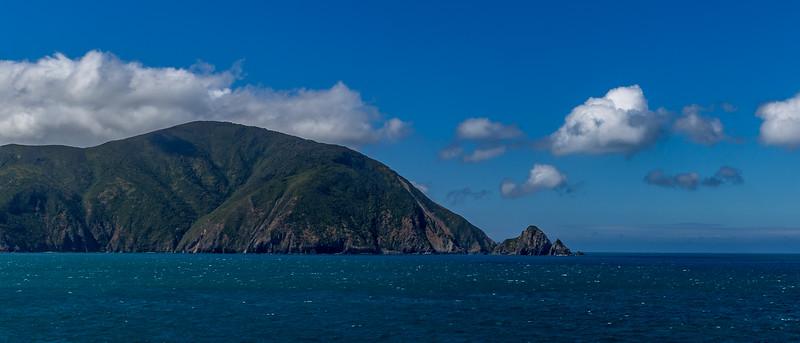 Das erste Bild der Südinsel Neuseelands