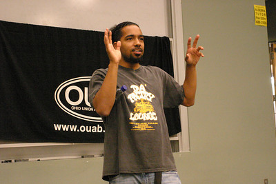 2007 OUAB Poetry Jam Featuring Shihan