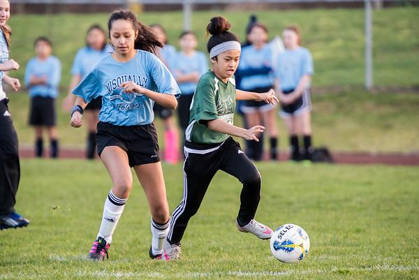 Komachin 2015-16 JV girls soccer