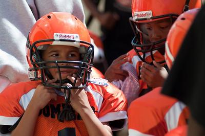 2010 Bombers vs Raiders - Orange Tiney Mites